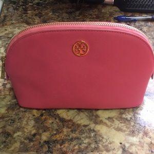 Tory Burch Pink Cosmetics bag